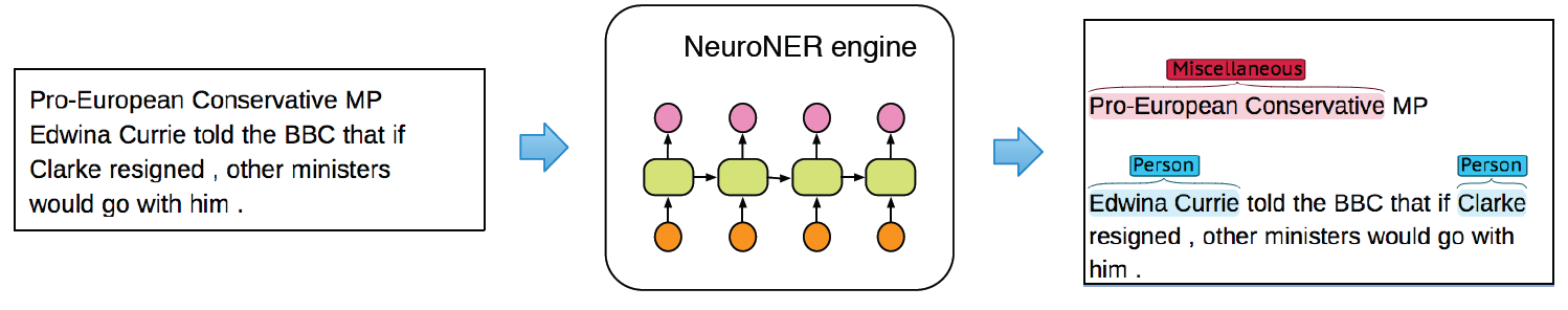 NeuroNER engine